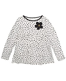 Toddler Girls Dot-Print Cotton Tunic, Created For Macy's