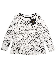 First Impressions Baby Girls Cotton Animal-Print Tunic, Created For Macy's