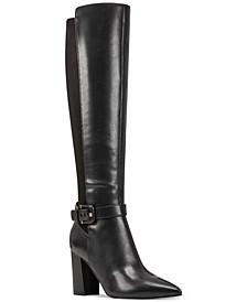 Collins Block-Heel Dress Boots