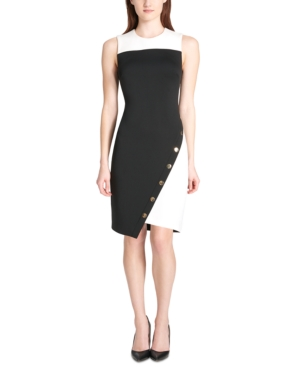 Tommy Hilfiger Dresses COLORBLOCKED ASYMMETRICAL DRESS