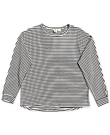 Little & Big Girls Striped Top