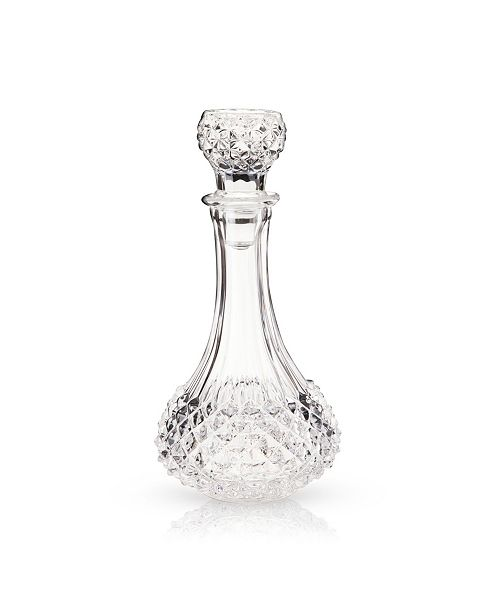 Viski Admiral Studded Glass Decanter