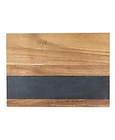 Wood with Slate Board M