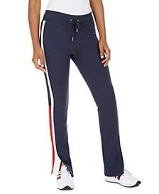Side-Striped Pants