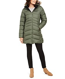 Women's Montreal Hooded Faux-Fur-Trim Coat