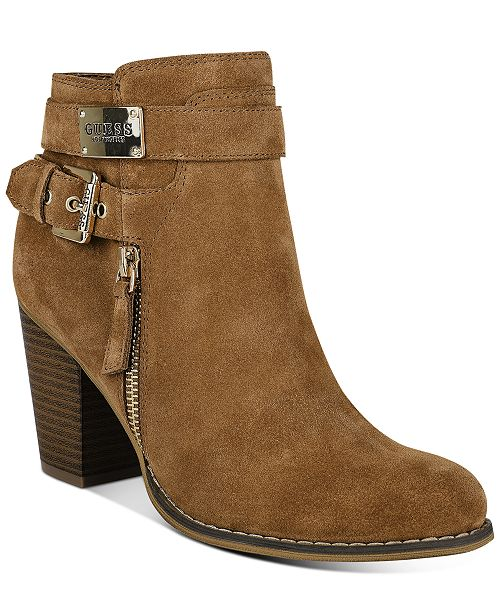 GUESS Gather Dress Booties