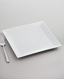 Whiteware Square Salad Plate, Created for Macy's