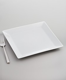The Cellar Whiteware Square Salad Plate, Created for Macy's