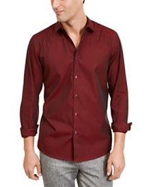 I.N.C. Men's Pinstripe Shirt, Created For Macy's