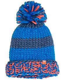 CC Girl Chunky-Knit Pom Pom Hat
