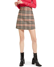 Paolo Plaid Skirt