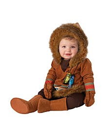 Toddler Girls and Boys Alaskan Native Deluxe Costume