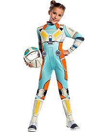 BuySeasons Girl's Star Wars Resistance Classic Torra Doza Child Costume