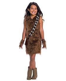 Big Girl's Star Wars Classic Deluxe Chewbacca Dress Child Costume