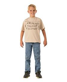 BuySeasons Stranger Things Kids Alphabet Shirt