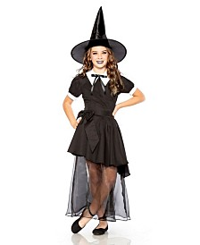 BuySeasons Little and Big Girl's Salem Witch Child Costume