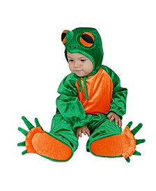 Big Boys and Girls Little Frog Costume