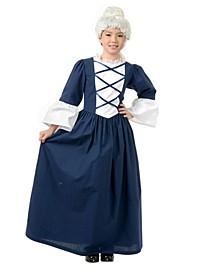 Little and Big Girl's Martha Washington Child Costume