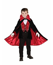BuySeasons Boy's Victorian Vampire Child Costume