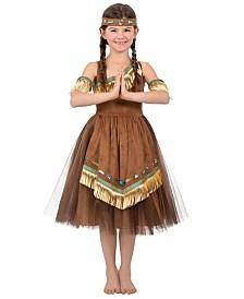 BuySeasons Girl's Native American Princess Child Costume