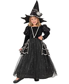 BuySeasons Little and Big Girl's Diamond Witch Child Costume
