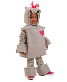 BuySeasons Girl's Rosalie the Robot Child Costume
