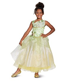 Big and Toddler Girl Tiana Deluxe Child Costume