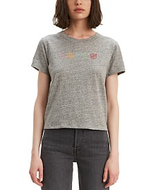 Levi's® Cotton Rainbow Logo Graphic T-Shirt