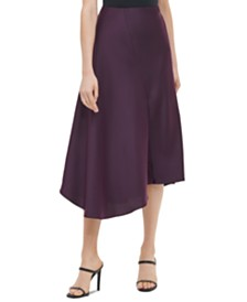 Calvin Klein Asymmetric A-Line Skirt