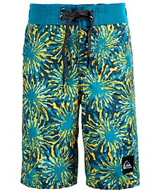 Toddler & Little Boys Fireworks Swim Trunks