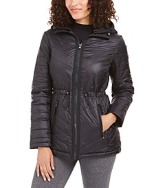 Hooded Anorak Coat