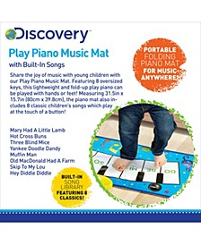 Toy Piano Music Mat