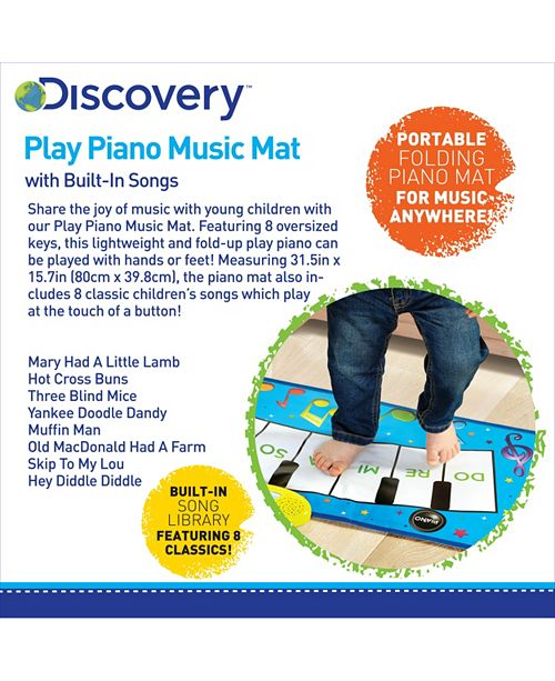 Discovery Kids Toy Piano Music Mat Reviews Home Macys