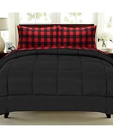 Buffalo Check 5-Pc. Twin Sheet and Comforter Set