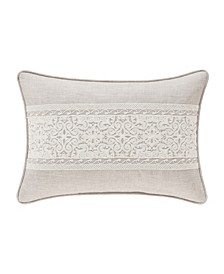 Lauralynn Beige Boudoir Decorative Throw Pillow