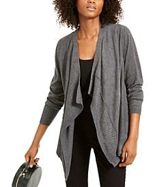 INC Draped Sweater, Created For Macy's