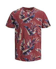 Men's New High Summer Short Sleeved Floral Tshirt
