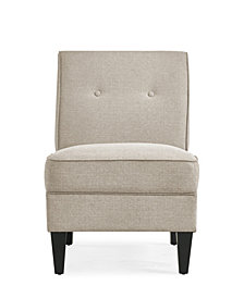 Handy Living George Armless Chair