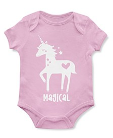 Baby Unisex Magical Unicorn Bodysuit
