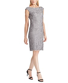 Scalloped Lace Dress, Created For Macy's
