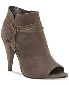 Annavay Peep-Toe Booties