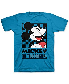 Disney Big Boys Mickey Mouse The True Original T-Shirt