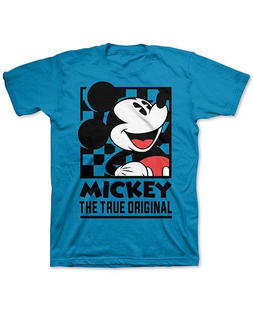Disney Big Boys Mickey Mouse The True Original T-Shirt