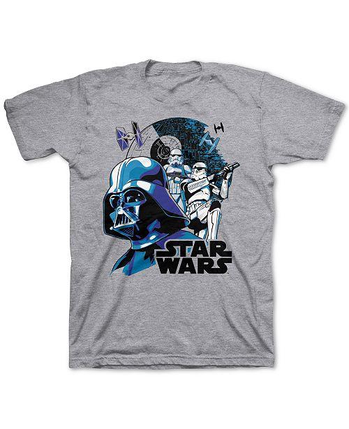 Star Wars Big Boys Vader Lock T-Shirt