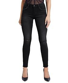 Selah Studded Curve Skinny Jeans
