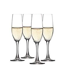 Salute 7.4 Oz Champagne Flute Set of 4