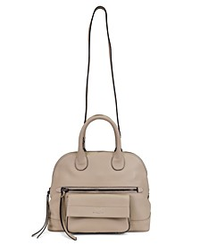 Danielle Leather Satchel