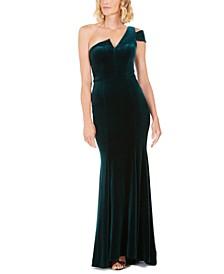 Petite Velvet Gown