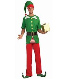 Buy Seasons Men's Jolly Elf Costume