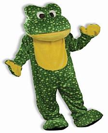 Buy Seasons Men's Deluxe Plush Frog Mascot Costume